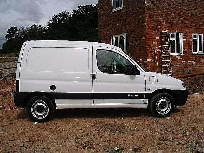 We have just purchased a 2001 Citroen Berlingo Electrique van which we hope