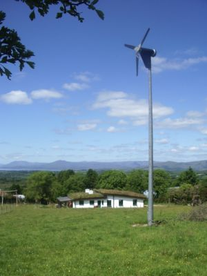 Wind generator and house